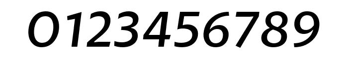 Petala Pro SemiLight Italic Font OTHER CHARS
