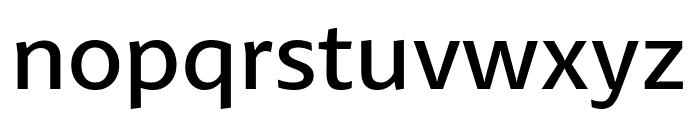 Petala Pro SemiLight Font LOWERCASE