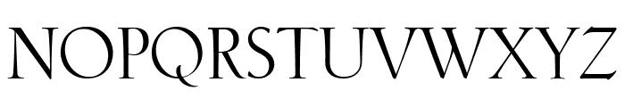 Phaistos Roman Font UPPERCASE