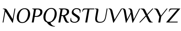 Philosopher Italic Font UPPERCASE