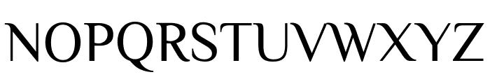 Philosopher Regular Font UPPERCASE