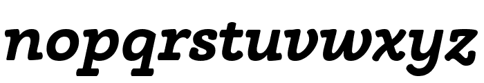 Phoreus Cherokee Bold Italic Font LOWERCASE