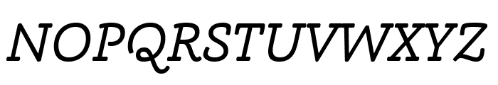 Phoreus Cherokee Italic Font UPPERCASE