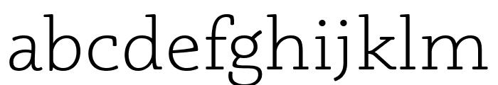 Phoreus Cherokee Light Font LOWERCASE