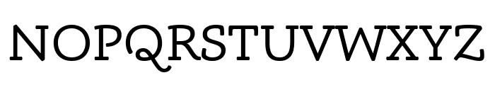 Phoreus Cherokee Regular Font UPPERCASE