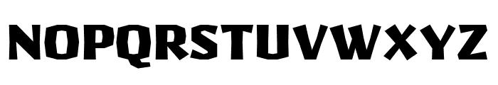 Pilsner Black Font UPPERCASE