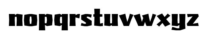 Pilsner Black Font LOWERCASE