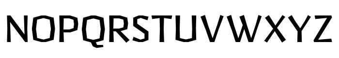 Pilsner Regular Font UPPERCASE