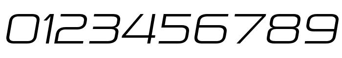 Pirulen Light Italic Font OTHER CHARS