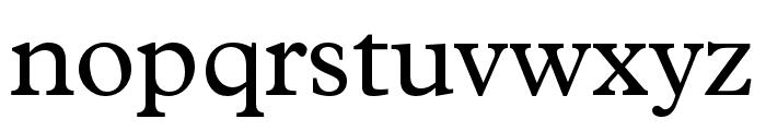 Plantin MT Pro Regular Font LOWERCASE