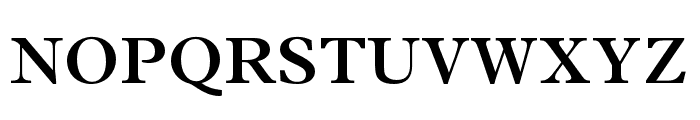 Plantin MT Pro Semibold Font UPPERCASE