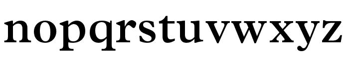 Plantin MT Pro Semibold Font LOWERCASE