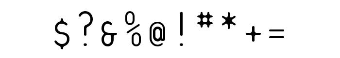 Platelet OT Thin Font OTHER CHARS