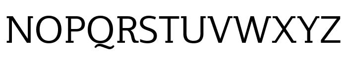 Plume Ad Regular Font UPPERCASE