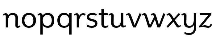 Plume Ad Regular Font LOWERCASE