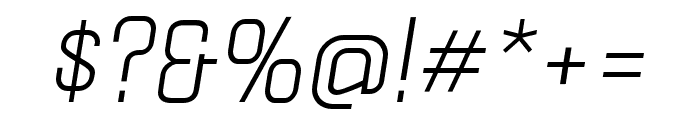 Politica Italic Cd Font OTHER CHARS