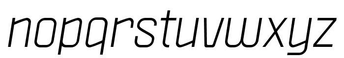Politica Italic Cd Font LOWERCASE