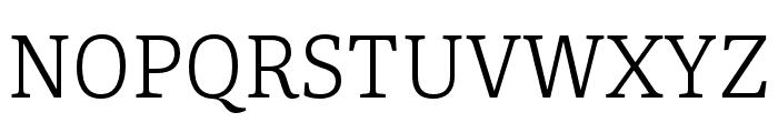 Portada Light Italic Font UPPERCASE