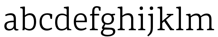 Portada Light Italic Font LOWERCASE