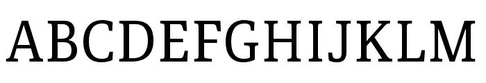 Portada Text Regular Font UPPERCASE