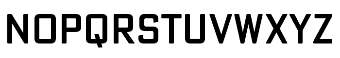 Poster Gothic Round ATF Medium Font LOWERCASE