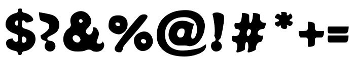 Potta One Regular Font OTHER CHARS