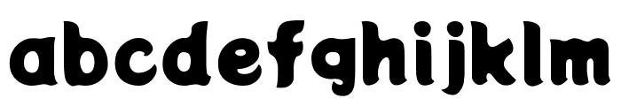 Potta One Regular Font LOWERCASE