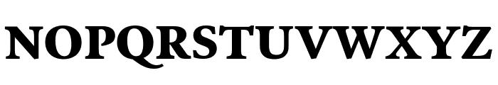 Poynter Oldstyle Text Bold Font UPPERCASE