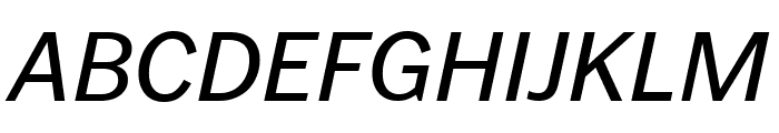 PoynterGothicText Italic Font UPPERCASE