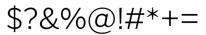PoynterGothicTextCond Light Font OTHER CHARS
