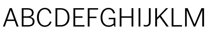 PoynterGothicTextCond Light Font UPPERCASE