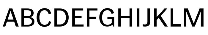 PoynterGothicTextCond Regular Font UPPERCASE