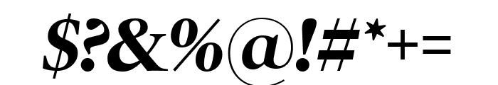 PoynterOSDisp Bold Italic Font OTHER CHARS