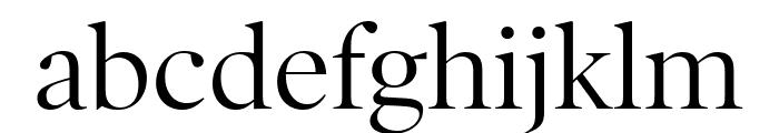 PoynterOSDisp Roman Font LOWERCASE