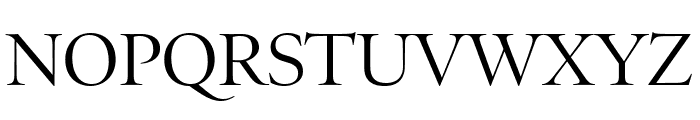 PoynterOSDispCond Roman Font UPPERCASE