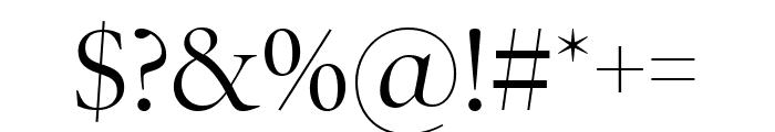 PoynterOSDispNarrow Roman Font OTHER CHARS