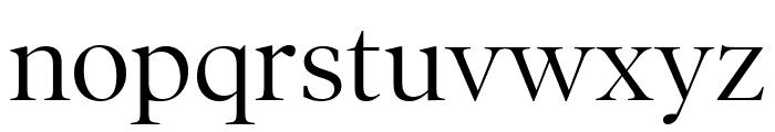 PoynterOSDispNarrow Roman Font LOWERCASE