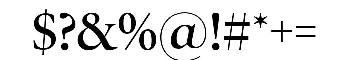 PoynterOSDispNarrow Semibold Font OTHER CHARS