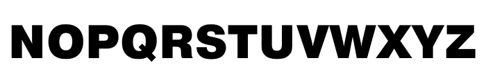 Pragmatica Cond Black Font UPPERCASE