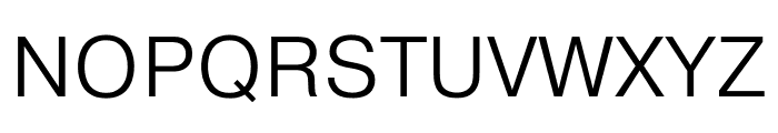 Pragmatica Cond Extra Light Font UPPERCASE