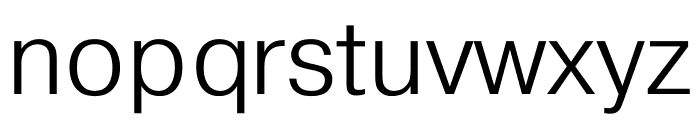 Pragmatica Cond Extra Light Font LOWERCASE