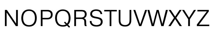 Pragmatica Extended Light Font UPPERCASE