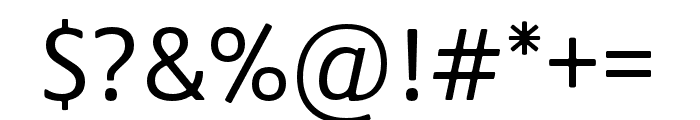 Praxis Next Condensed Regular Font OTHER CHARS