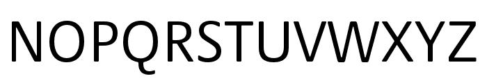 Praxis Next Condensed Regular Font UPPERCASE