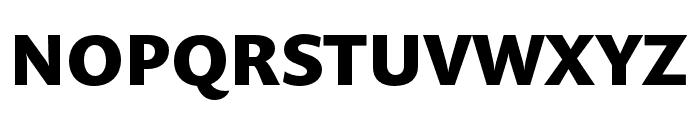 Prenton RP Cond Bold Font UPPERCASE