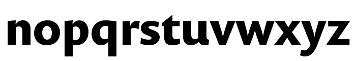 Prenton RP Cond Bold Font LOWERCASE