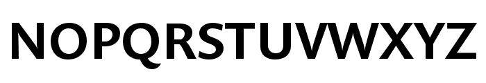 Prenton RP Cond Medium Font UPPERCASE
