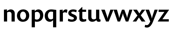Prenton RP Cond Medium Font LOWERCASE