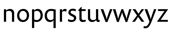 Prenton RP Cond Regular Font LOWERCASE