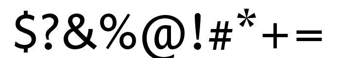 Prenton RP Ultra Cond Regular Font OTHER CHARS